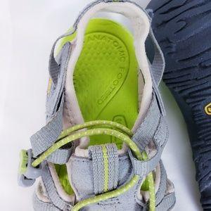 Keen Shoes - Keen whisper hiking sandal grey/chartreuse sz 8.5